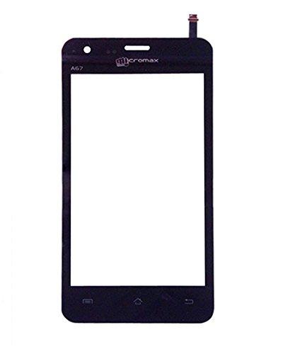 KolorEdge Micromax A67 Bolt Original Touch Digitizer Replacement - Black