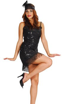 boland-bv-costume-ragazza-flapper-charleston-luxe-nero-taglia-m