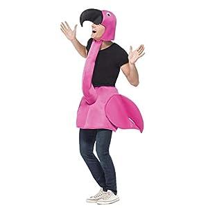 Smiffys Flamingo Costume Unisex Adulto, Taglia unica 8 spesavip