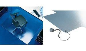 Preisvergleich Produktbild Bodenschutzmatte Transstat®, 150x120cm, für Teppichböden, Form O