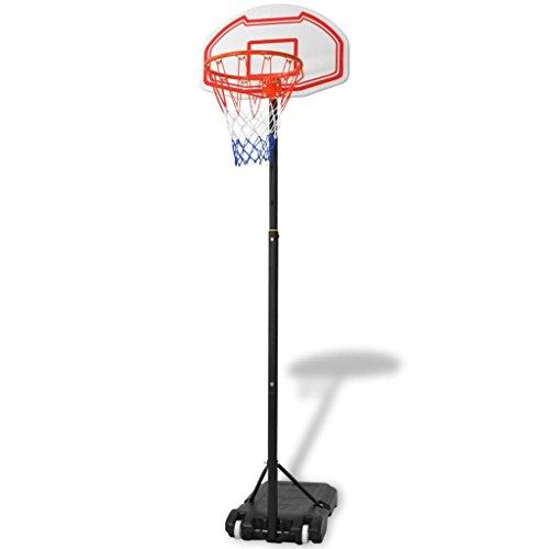 Preisvergleich Produktbild Generic Basketballkorb B Tragbares Basketballnetz,  verstellbar,  210 cm,  mit Verstellbarem Rückwand