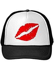 Funny Red Kiss Trucker Hat
