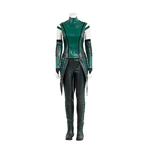 Marvel Mantis Kostüm - QWEASZER clothing Marvel Avengers Mantis Guardians 1: 1 Kostüm Deluxe Edition Superheld Cosplay Kleidung Kostüm Body Overalls Film Kleidung Requisiten Anpassbare Größe,Green-XXXL