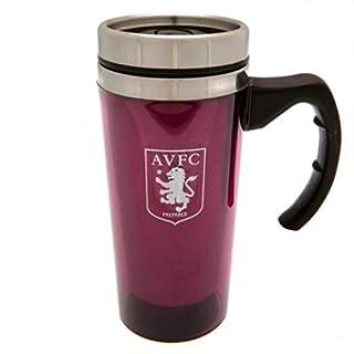 Aston Villa Fc Aluminium Travel Mug Tea Coffee Cup Ceramic Gift Official