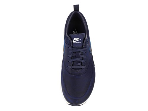 Nike Air Max Thea, Sneakers Basses femme Bleu - Azul (Lyl Blue / Lyl Bl-Smmt Wht-White)