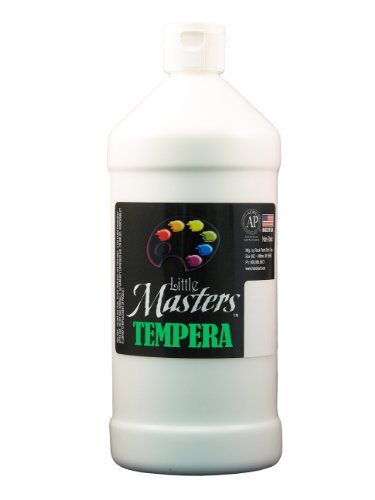 little-masters-by-rock-paint-203-705-tempera-paint-1-white-32-ounce-by-little-mastersar-by-rock-pain