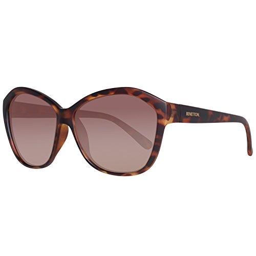 BENETTON BE936S01, Gafas de Sol para Mujer, Trtois, 59