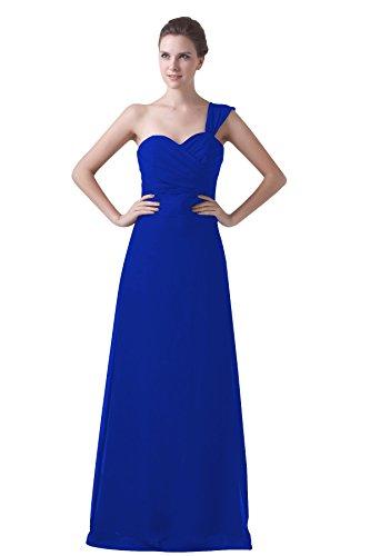 Bridal_Mall - Robe - Trapèze - Sans Manche - Femme Koenigsblau