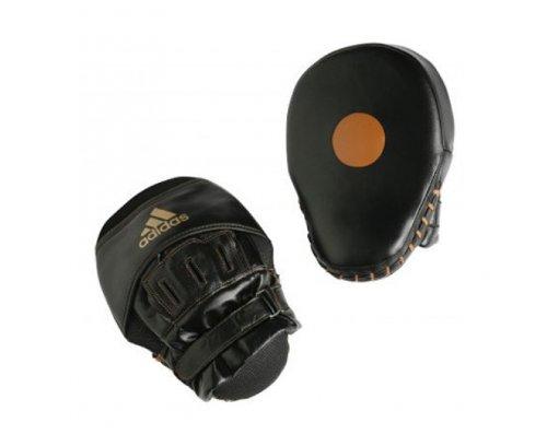 adidas Professional Focus Mitts Heavy Weight Pratze Schwarz/Weiß One Size