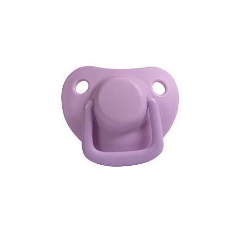 Filibabba® Schnuller 2er Set   Baby Schnuller aus Silikon in schönen matten Farben   Kiefergerechte Schnuller   Dänisches Design   2 Stück mit Schnuller Box (Light Lavender, 0-6 Monate)