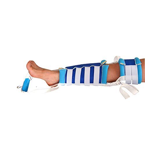 GLJY Bruch-Knöchel-Unterarm-Traktionsgurt, Haushaltsgelenk-Pull-Down-Bein-Stretching-Riemen, Knöchelschutz, Feste Klammer, Fußstabilisator-Stiefel,S -