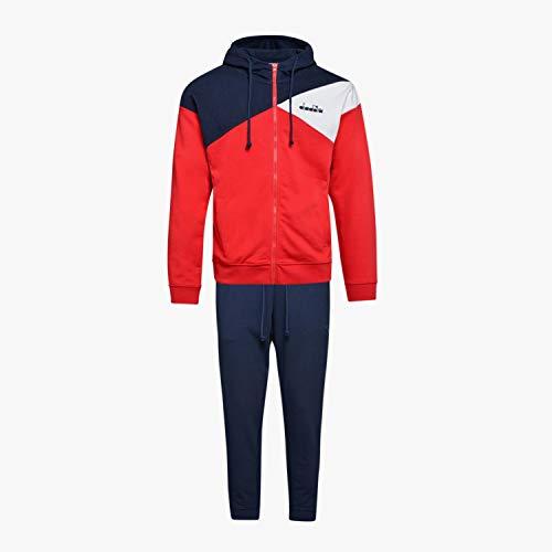 Diadora - Trainingsanzug HD FZ Cuff Suit UNBRUSHED FL CORE für Mann DE XL