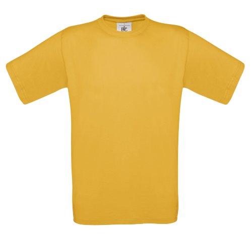 BCTU002 T-Shirt Exact 150 Herren Damen Gold