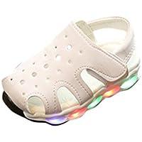 LED Licht Leucht Schuhe für Kinder cinnamou Baby Kinder Klein Mode Sneaker Casual Strand Sandalen Sport Outdoor Schuhe