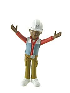 Comansi- Figura Leo de Bob The Builder Muñecas (1)