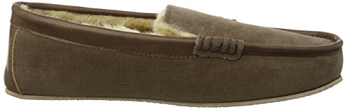 Ruby and Ed Cord, Chaussons homme Marron - Brown (Chocolate)