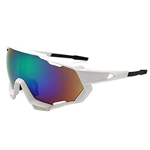 Sportbrille für Herren und Damen Sonnenbrille Männer blenden Farbe Sonnenbrille Fahrrad Reiten Brille Radfahren Outdoor Sports Brille Sonnenbrille Männer und Frauen für Baseball Wie Herren Autofahren