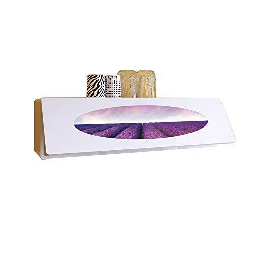Xiaolin armadi di stoccaggio in legno decorazione da parete di fondo parete attrezzata parete attrezzata armadio per vino scaffale per vino 110 * 20 * 30cm (colore : purple)