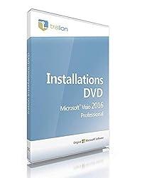 Microsoft® Visio 2016 Professional 64bit, inkl. Tralion-DVD, inkl. Lizenzdokumente, Audit-Sicher, deutsch