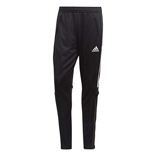 adidas Mens Con20 Tr PNT Track Pants, Black/White, S