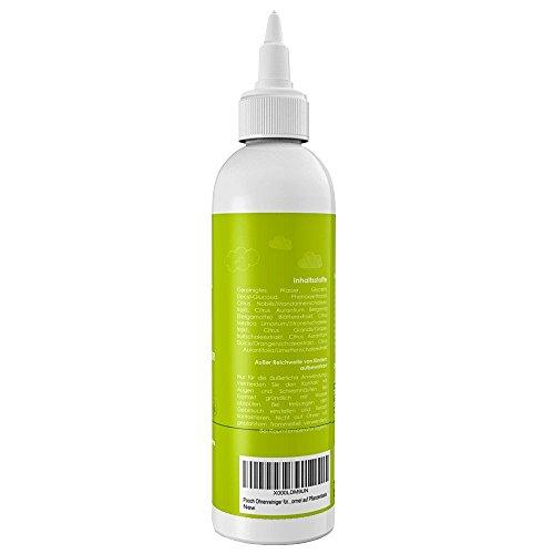 Pro Pooch Ohrenreiniger für Hunde (250 ml) | Eliminiert Jucken, Kopfschütteln & Gerüche in 3 Tagen | Sanfte Lösung für Hunde mit Milben, Hefepilzen, Juckreiz & Ohrgeruch | Natürlich abgeleitete Formel auf Pflanzenbasis - 3