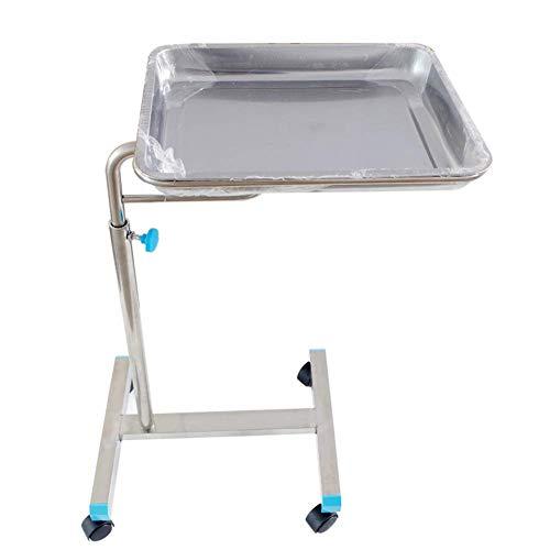 Einfache Idee Chirurgischer Tabletthalter aus Edelstahl für Den Operationssaal Wagen für Medizinische Geräte Chirurgie-Gabelhubwagen, 70110 Cm, Höhenverstellbar, T-C -