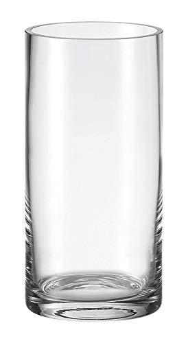 Höhe 30 cm, Durchmesser 15 cm, handgefertigtes Klarglas, 025228 ()