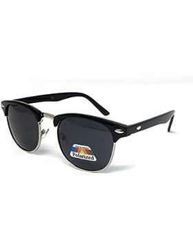 WSUK - Gafas de sol - para niño negro Black Frame Black Lens
