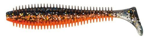 Fox Rage Spikey Shad Gummifische 9cm, Farbe:Glitterbug