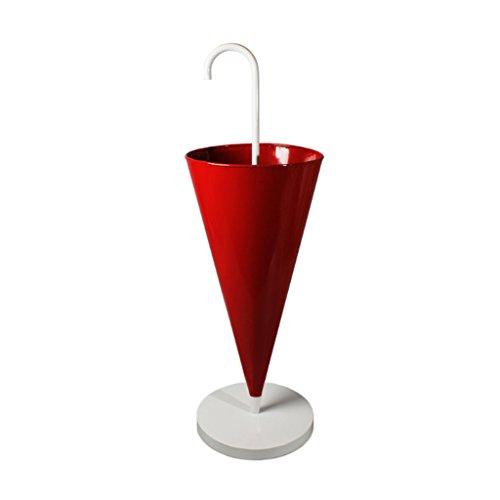 Dongy portaombrelli in metallo creativo lobby hotel home portaombrelli europeo in piedi portaoggetti portaoggetti, 30x93cm porta ombrelli (colore : red)