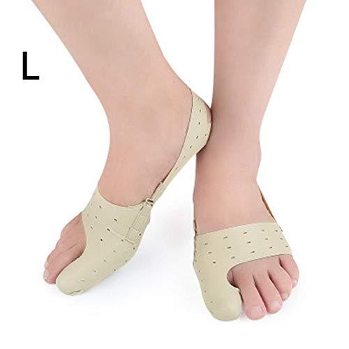 Supertop bunion correttore, ultra-sottile leggero leggero e traspirante giorno e notte grandi piedi pollice alluce borsite correttore cintura borsite cura
