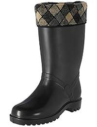 Zapatos 37 Botas Cuadros Y Mujer es Amazon Para xw74zgn