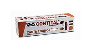 Contital Papier Cuisson pour aliments Rouleau de 50 m-box