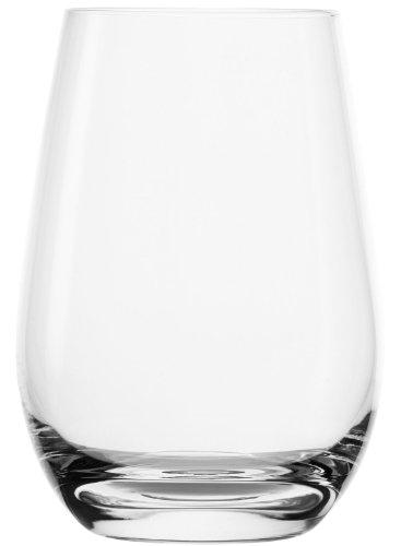 Stölzle Lausitz Becher, 465ml, 6er Set Gläser, spülmaschinenfest, robustes Trinkglas, echter Allrounder, ideal für sämtliche Kaltgetränke, hochwertige Qualität