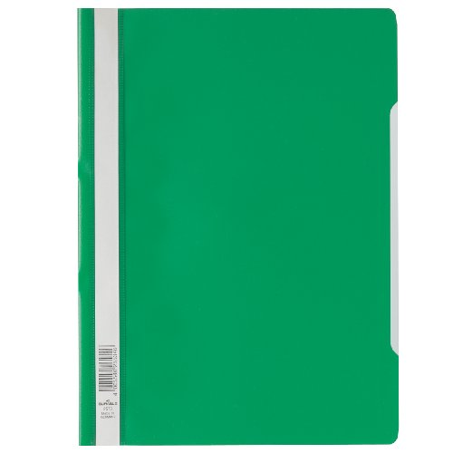 Durable 257305 Sichthefter (A4 Standard, PP, 227 x 310 mm) 50er Packung grün
