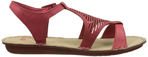 TBS Zaharia A7, Sandales Bride Arriere Femme Rouge (Rubis)