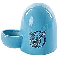 WUYANSE Bebedero De Agua para Mascotas De Cerámica, Mini Comedero De Agua Portátil para Mascotas