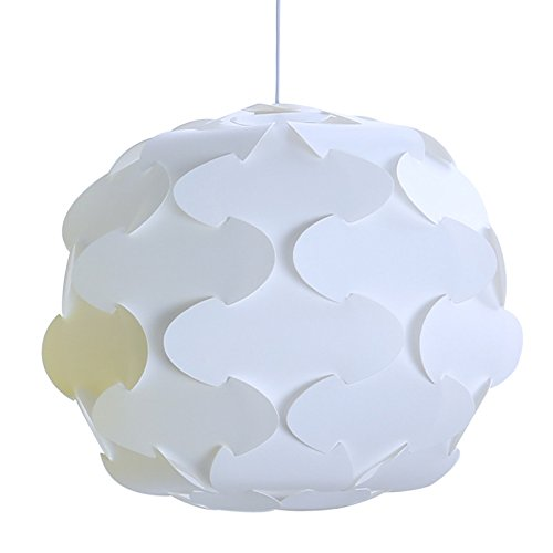 GENERIC 30cm white : Creative DIY combination IQ corridor lamp bar restaurant Multicolor pendant lights