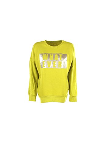 Felpa Donna Shop Art 16ISH32080 Lime Autunno/Inverno Lime S
