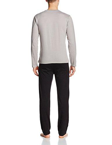 Tendre Nuit Herren Sportswear-Set Ace Grau - Gris (Gris/Noir)