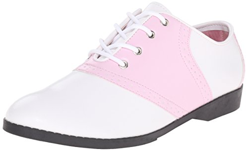 Pleaser Saddle 50, Oxfords Femme Pink (B Pink/Wht Pu)
