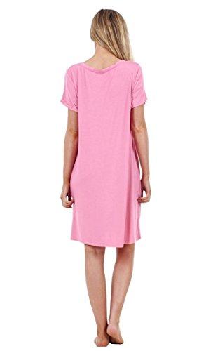 Ex Marks & Spencer - Ensemble de pyjama - Femme crème crème Rose