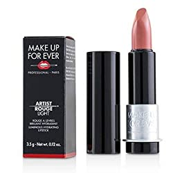 MAKE UP FOR EVER Artist Rouge Light Luminous Hydrating Lipstick (L100 Natural)