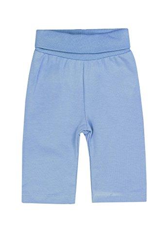 Steiff Baby-Jungen Jogginghose, Blau (Milky Blue 3182), 74