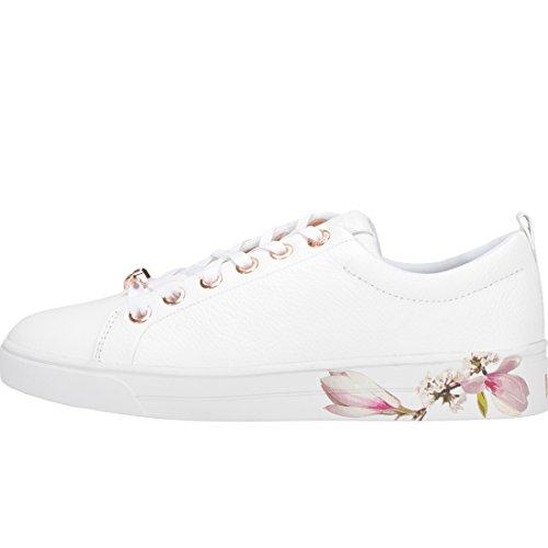 Ted Baker Damen Kelleip Sneaker White Multicolour