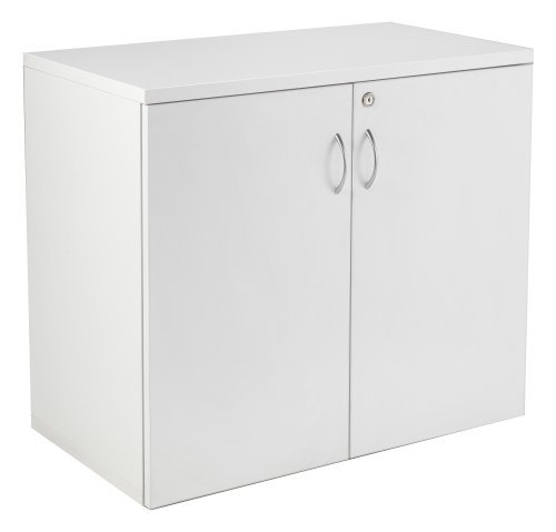 white-desk-high-cupboard-lockable-double-doors-and-1-shelf-office-cupboard-from-the-smart-office-fur