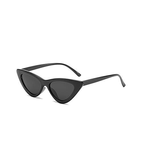 WJFDSGYG Cute Sexy Damen Cat Eye Sonnenbrille Frauen Kleine Sonnenbrille Weiblich