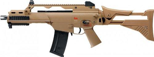 Softair Gewehr Heckler & Koch G36 C IDZ FDE 0,5 Joule, elektrisch AEG, Kal. 6 - Auto Air-pistole Semi