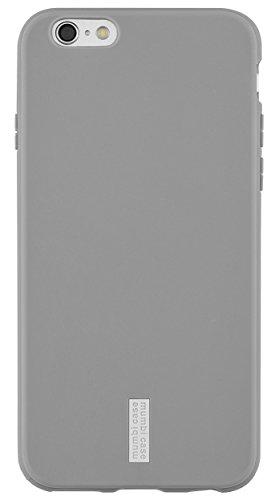 mumbi Schutzhülle für iPhone 6 6s Hülle hell grau Logo