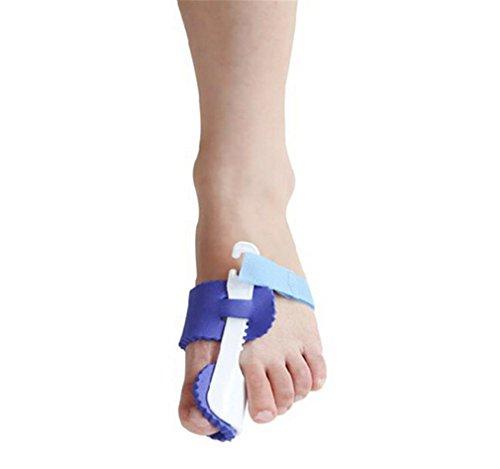 Summens 1 Paire Unisex Capuchons d'orteils Protecteurs Pied de protection en gel chaussures à talons pour Hallux valgus orteil Bigfoot bretelles ceinture de qualité médicale